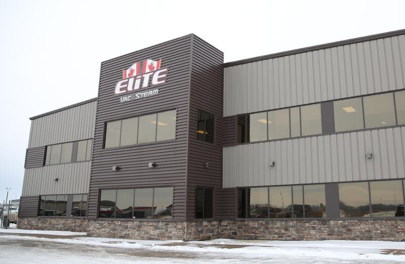 Elite Vac & Steam, Grande Prairie, AB, Exterior Building