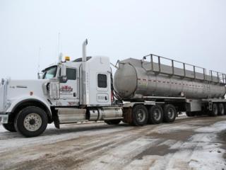Elite Vac & Steam, Grande Prairie, AB, Tank Truck