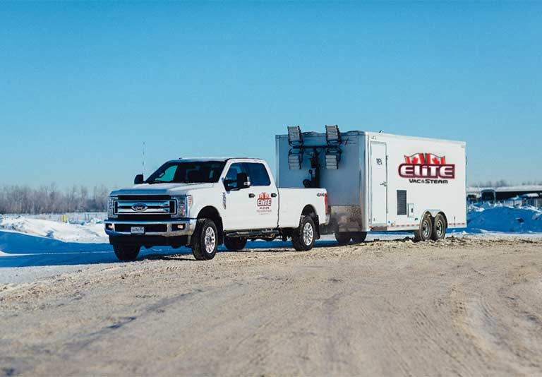 Elite Vac & Steam, Grande Prairie, AB, Power Generation Truck and Trailer