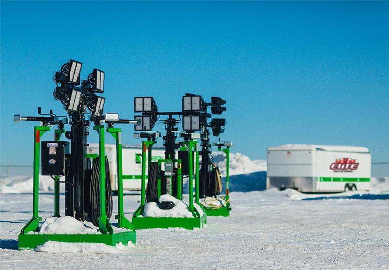 Elite Vac & Steam, Grande Prairie, AB, Power Generation Lights