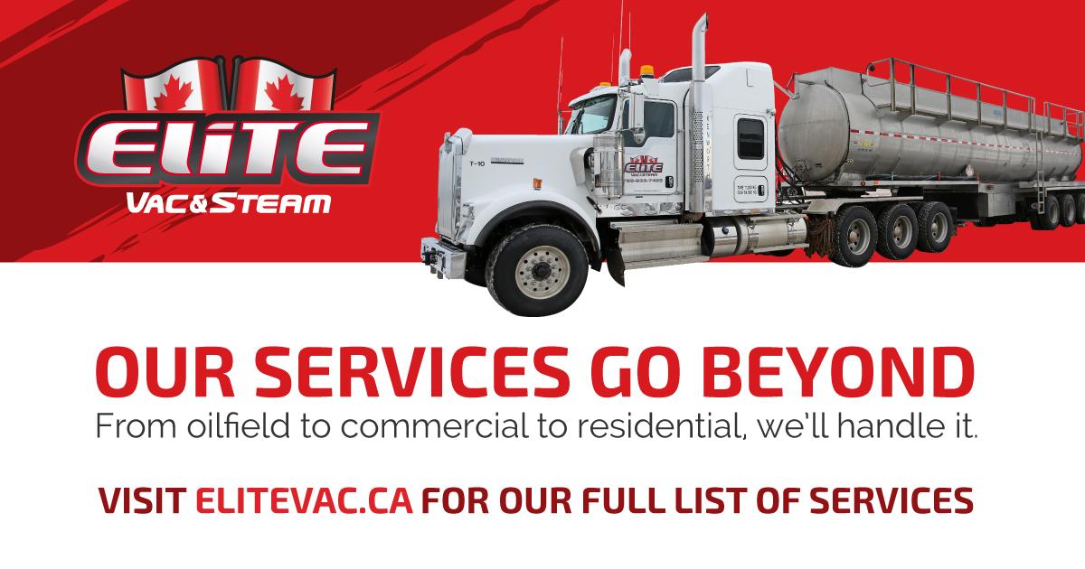 Services – Elite Vac & Steam – Hydrovac Services, Vac Truck Services