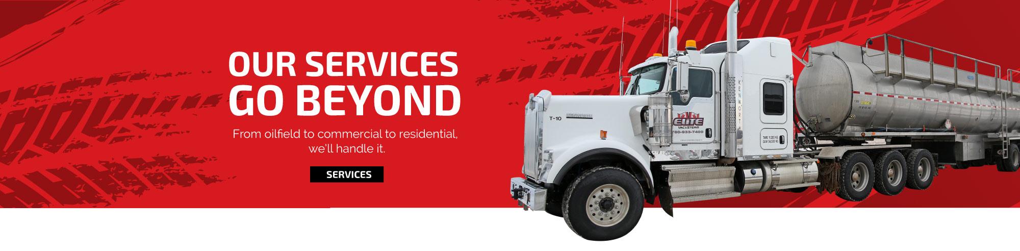 Elite Vac & Steam - Vacuum/Steam and Fluid Hauling Services - Grande Prairie, AB Slide 2