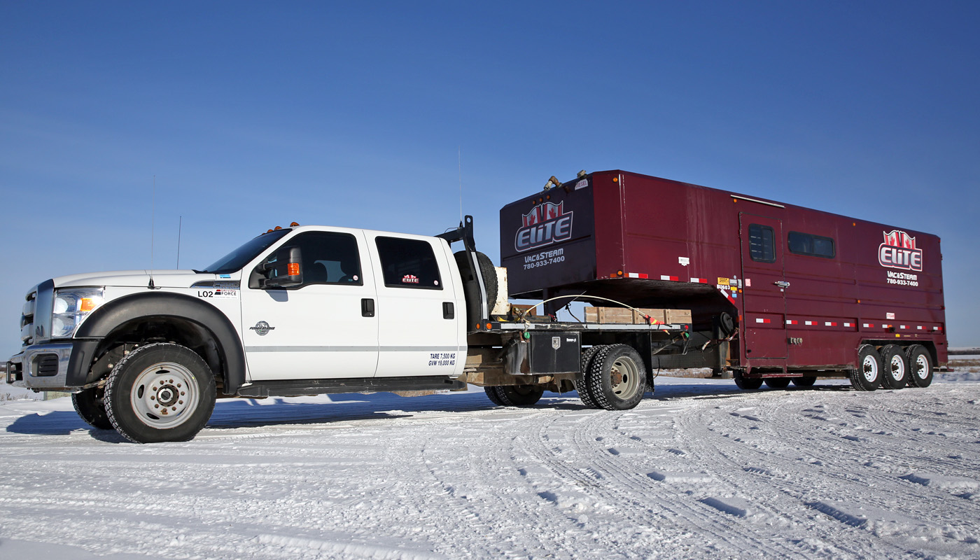 Elite Vac & Steam Truck and Mobile Boiler BU603 Clairmont, AB