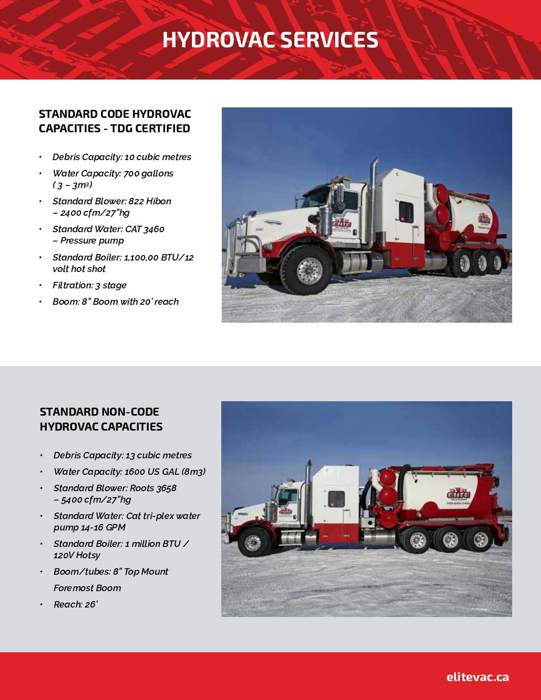 Elite – Hydrovac Services